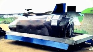 AMAZING! Inside the Made-in-Nigeria Rocket Car!!