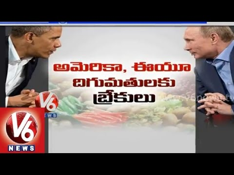 Russia banned imports from USA & EU