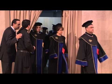 Doctorate Honoris Causa in Business and Commercial Sciences to Mr. Salim Sfeir