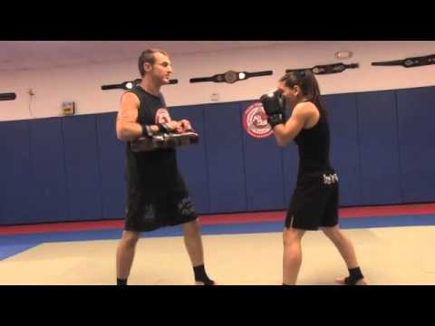 How To Use Elbows in Kickboxing - Kickboxing Lesson Image 1