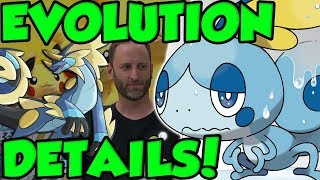 SOBBLE EVOLUTION DETAILS! New Pokemon Sword and Shield Starter Evolution Interview!