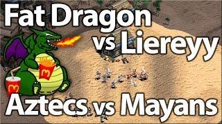 Fat Dragon vs Liereyy   Mayans vs Aztecs!