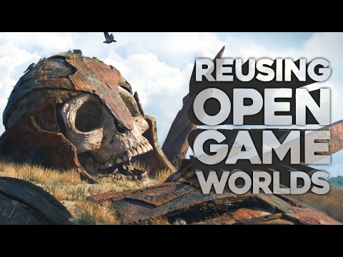 Why Don't Game Developers RE-USE Open Worlds?