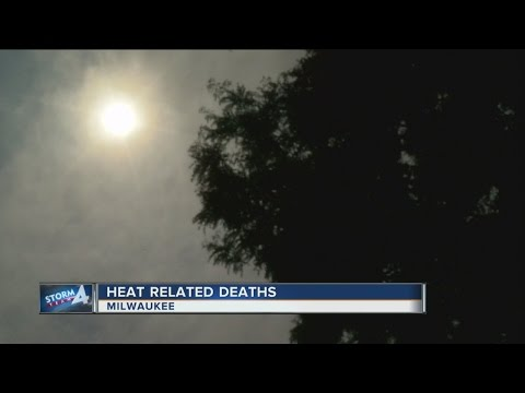 2 heat related deaths reported in Milwaukee