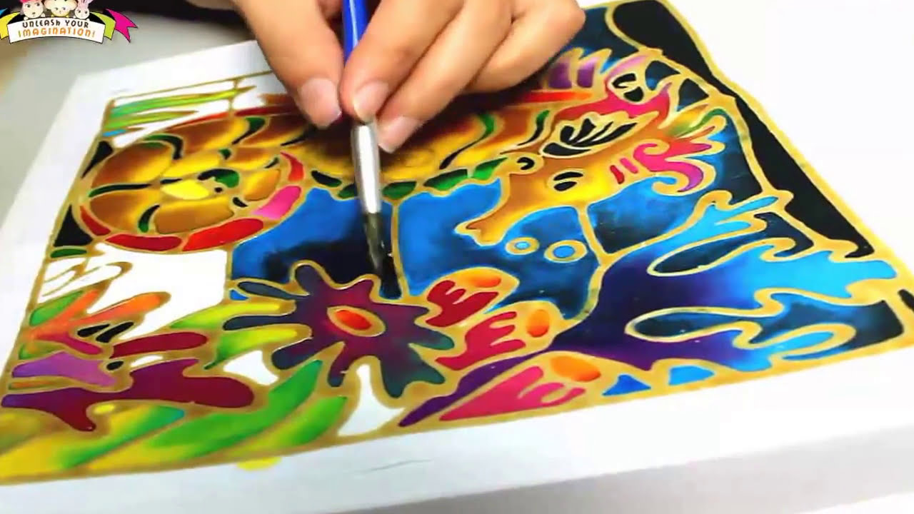Do it by your self : Batik Painting Art - YouTube