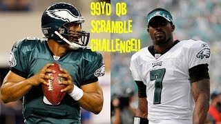 WHO CAN GET A 99YD QB SCRAMBLE FIRST?!? DONOVAN MCNABB VS MIKE VICK!! EAGLES G.O.A.T.