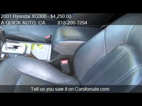 2001 Hyundai XG300  - for sale in North Hollywood, CA 91605