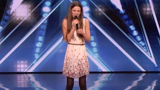 Shy 13 Year Old Stuns America 39 S Got Talent Judges With Otis Redding Song