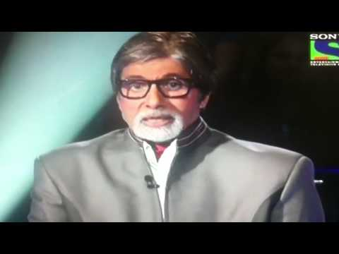 Patni Ki Arti - On Kbc By Big B video