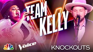"Desz and Sid Kingsley Both ""Kill It"" in Their Performances - The Voice Knockouts 2020"