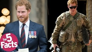 Top 5 Facts About Prince Harry