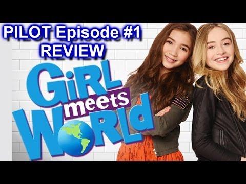 "Girl Meets World Review - Season 1 Ep. 1 - ""Girl Meets Boy"" Pilot - Disney Channel"