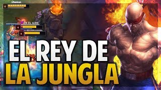 ¡GANA TODAS LAS LINEAS! | EL REY DE LA JUNGLA | LEE SIN | League of Legends
