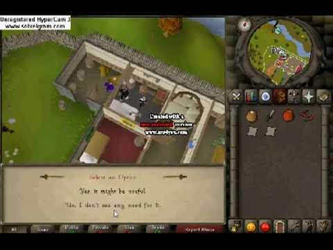 Old School Runescape 2007 Murder Mystery Detailed Quest Guide