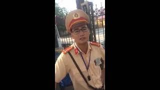 Bị côn đồ đánh khi đang làm việc với CSGT Vĩnh Yên - Vĩnh Phúc