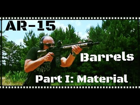 AR-15 Barrel Selection Guide: Stainless? Mil Spec? CHF? 4150?  4140?  CL?  Melonite? (HD)