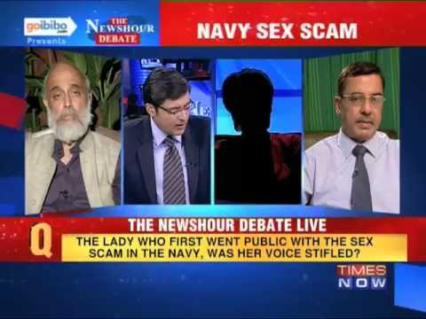 The Newshour Debate: Will the Indian Navy conduct a fair probe in the sex scandal? (Part 2 of 2)