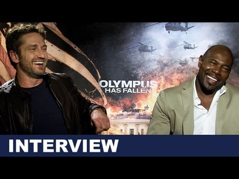 Gerard Butler & Antoine Fuqua Interview - Olympus Has Fallen 2013 : Beyond The Trailer