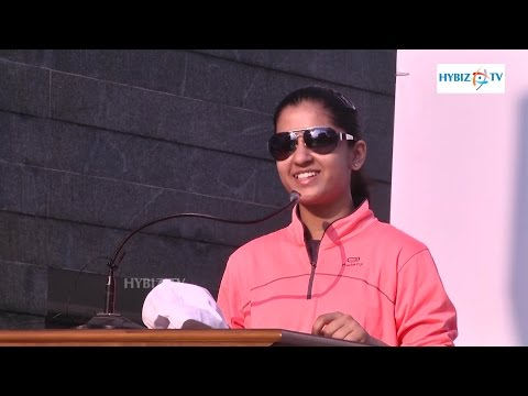 Naina Jaiswal International Table Tennis Player - 3K Run for Medical Students Hosted by AIMSR