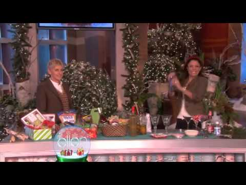 0 Ellen Gets a Gift From Bethenny! The Ellen Show