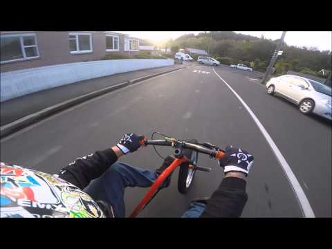 Riding Trikes Down The World's Steepest Street