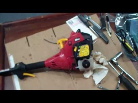 Homelite Weed Trimmer Repair Tutorial Part 1