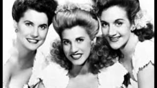 Watch Andrews Sisters Beer Barrel Polka video