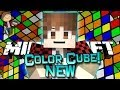 Minecraft: NEW Color Cube Snapshot Mini-Game w/Mitch & Friends!