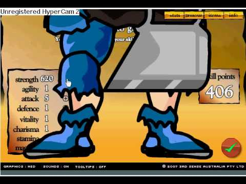 SWORDS AND SANDALS 2, 1000 SKILLPOINTS HACK CHEAT
