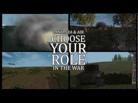 WWII Online: Battleground Europe Trailer (2013)