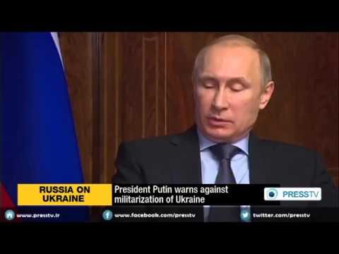 President Putin warns against rapid militarization of Ukraine