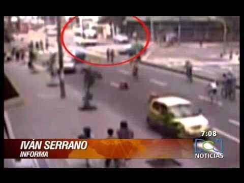 Accidente en la 7ma - Bogotá