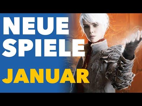 Der Januar startet mit ein paar echten Next-Gen-Spielen - Release-Vorschau