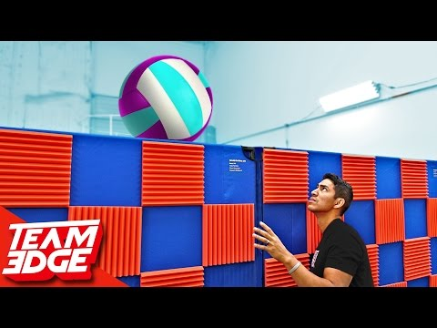 Blind VolleyBall Challenge!! 🏐