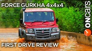 Force Gurkha 4x4x4 First Drive Review by OnCars India