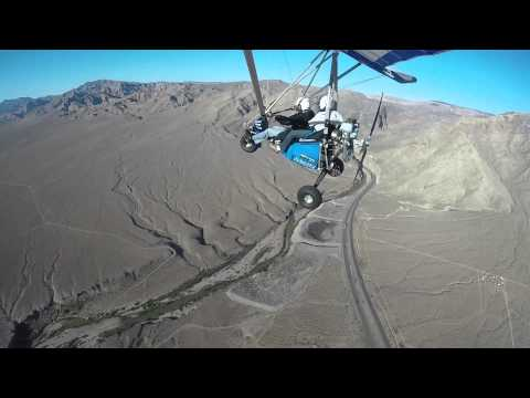 Trike Flight - Mesquite, Nevada 5.2.14