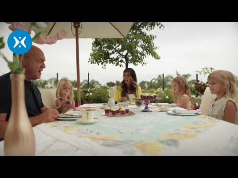 Greg Laurie Teaches His Granddaughters Etiquette??