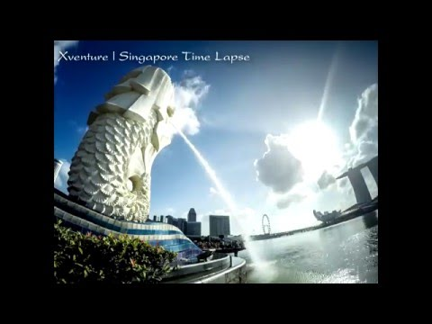 GOPRO | Singapore Time lapse Merlion