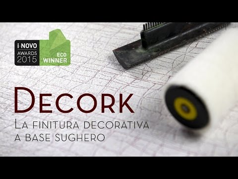 Decork - La finitura decorativa a base sughero