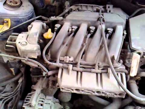 Renault Megane 1 4 16v Start Amp Redline Youtube