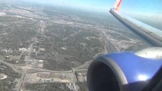 *Onboard* Southwest 737-700 Epic Landing Kansas City International HD