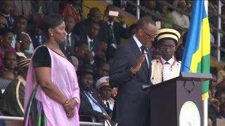 Abaperezida 17 bitabiriye umuhango wo kurahira kwa Paul Kagame