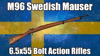 Video: M96 Swedish Mauser 6.5x55 Rifles