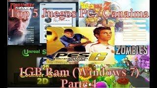 Top 5 juegos para Canaimas/Pc de 1GB Ram (Windows 7) (Parte 4)