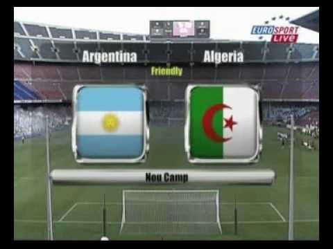 algeria vs argantina الجزائر الارجنتين 010.avi Music Videos
