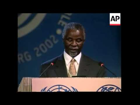 Opening statements by Annan and Mbeki