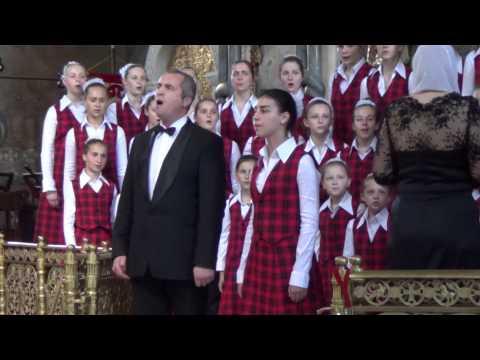 Святый Боже на арамейском языке. Детско-молодежный хор, г. Винница