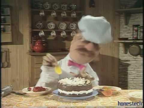 Swedish Chef Birthday Cake