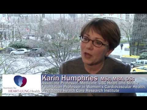 Women & Heart Disease with Dr  Karin Humphries (Part 1)  FEST 2013