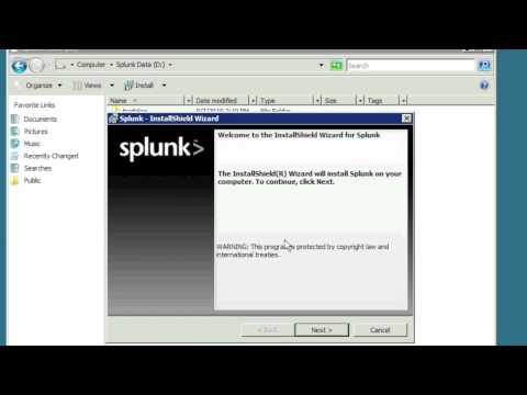 Download splunk for windows